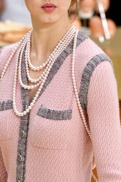 Chanel Fall 2015: Welcome to the Brasserie Gabrielle