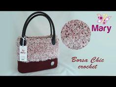 Borsa Chic all'uncinetto   Crochet - YouTube Mary Mary, Chicano, Lana, Straw Bag, Make It Yourself, Crochet Bags, Tutorial, Youtube, Pattern