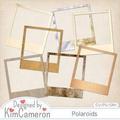 CU Freebie Polaroid Frames