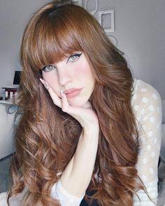 Golden Auburn Hair Color auburn hair 43 Sexy Redhead Girls Show Off One Of The Most Popular Hair Colors Hair Color Auburn, Auburn Hair, Ashy Blonde Balayage, Balayage Hair, Blonde Hair, Make Up Braut, Girls Showing Off, Redhead Girl, Popular Hairstyles