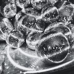 the partys on the sofa. #disco #inspo #blackandwhite...