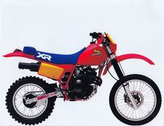 Honda XR350R and XR500R (1984) (from Tony Blazier - Flickr)