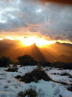 Tejeda en Canarias