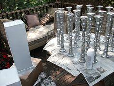 Haraldsen DIY: DIY Wedding Centerpieces
