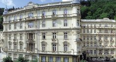"""Thought and Sight Travel Blog: Searching for the """"Real"""" Grand Budapest Hotel . The Grand Pupp Hotel in Karlovy Vary, Czech Republic."""