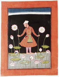 Kamala Ragaputra, Son of Dipak Raga, Folio from a Ragamala (Garland of Melodies) | LACMA Collections