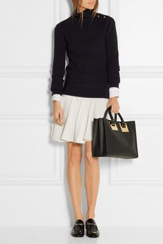 Sophie Hulme | Albion leather tote | NET-A-PORTER.COMb bag, сумки модные брендовые, bag lovers,bloghandbags.blogspot.com
