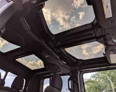 Panoramic Wrangler Sunroof Accessories for Jeep Wrangler JL Accessoires De Jeep Wrangler, Jeep Wrangler Accessories, Jeep Accessories, Jeep Jk, Jeep Truck, Ford Trucks, Jeep Mods, Jeep Wrangler Rubicon, Wrangler Sport