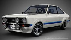 From an era when Ford made REAL good cars - Ford Escort Mexico 70s Cars, Retro Cars, Vintage Cars, Ford Rs, Car Ford, Ford Capri, Automobile, Gt Turbo, Ford Classic Cars