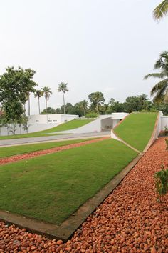 // The Green Roof Residence by LIJO RENY architects | Archello