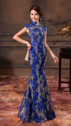 Evening Dresses, Prom Dresses, Formal Dresses, Colored Wedding Gowns, Mermaid Gown, Cheongsam, International Fashion, Asian Fashion, Gorgeous Women