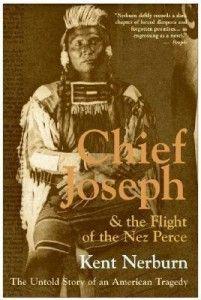 Chief Joseph & the Flight of the Nez Perce The Untold Story of an American Tragedy  agin they were tring to get to canada  the us g army chased started and frozen them out this is were  they said were son now atay i will fight no more forever  thi is a goveremnt who said alol men are qual  history or his story