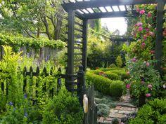 Rosenbogen Modern house gardens malmesbury gardens