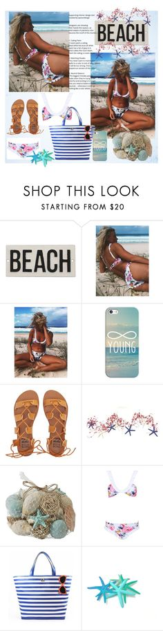 """""""Can't Wait!!"""" by diane-fritz-sager ❤ liked on Polyvore featuring HomArt, Casetify, Billabong, Pier 1 Imports and Kate Spade"""