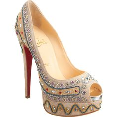 Hellloooooo beautiful... Christian Louboutin Bollywoody
