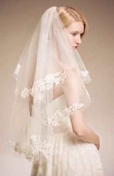 7 Gorgeous Wedding Veils For Bride Wedding Looks, Bridal Looks, Dream Wedding, Glamorous Wedding Inspiration, Baby Tulle Dress, Wedding Veils, Bridal Veils, Bridal Dresses, Flower Girl Dresses