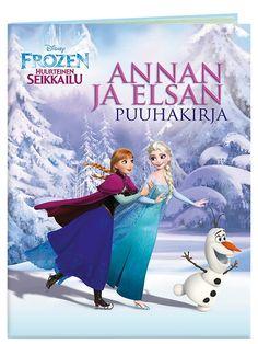 Frozen-puuhakirjassa pääset luistelemaan huurteiseen seikkailuun ja värittämään kuvia, yhdistämään pisteet, etsimään oikeaa reittiä, keksimään tekstit puhekupliin ja ratkaisemaan monia muita tehtäviä! Hauskojen puuhien parissa vierähtää monta taianomaista tovia.Frozen, Annan ja Elsan puuhakirja