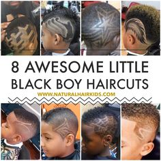 Little boy hair cuts, hair cut designs, little black boy hair