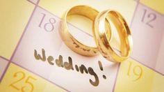 Marque no calendário a data de seu casamento