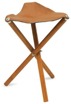 Shop Portable Wooden Folding Stool - Leather Seat at Blick. Find everything you need for your next creative project online. Diy Stool, Wood Stool, Step Stools, Artist Chair, Meditation Stool, Portable Stool, Black Dining Room Chairs, Bar Chairs, Metal Chairs