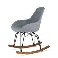 Diamond Dimple Pop Rocking Chair