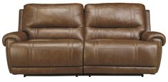 Shop for the Signature Design by Ashley Paron - Vintage 2 Seat Reclining Sofa at Royal Furniture - Your Memphis, Nashville, Jackson, Birmingham Furniture & Mattress Store Royal Furniture, Leather Reclining Sofa, Signature Design, Recliner, Family Room, Couch, Vintage, Home Decor, Chair