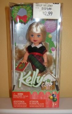 2005 Holiday Party Barbie Christmas Kelly Club Doll Ornament Kelly | eBay