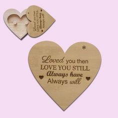 romantic message Heart Ring Holder