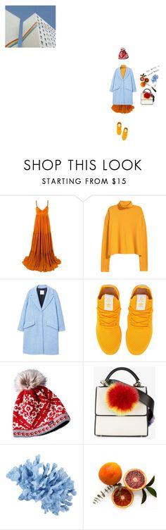 """""""무지개"""" by shindohee ❤ liked on Polyvore featuring Gucci, MANGO, adidas Originals, Les Petits Joueurs, INC International Concepts, rainbow, coats, ColourPop and statementcoats"""