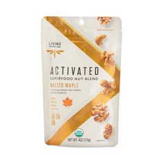 Your taste buds will go nuts for these trail mix cluster bites made with organic cacao, almonds, raisins, blueberries and coconut. Mesquite Powder, Live Probiotics, Raw Cashews, Almonds, Rice Packaging, Seeds Online, Healthy Groceries, Taste Buds, Raisin