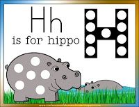 Letter H for Hippo   Confessions of a Homeschooler- this woman is AMAZING, such an organized blog!! Letter H Activities, Preschool Letters, Preschool Printables, Preschool Activities, Preschool Class, Kindergarten, Learning The Alphabet, Kids Learning, Zoo Phonics
