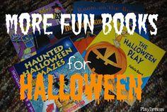 PlayDrMom shares some more fun Halloween books for kids