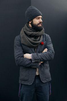Grey scarf, http://astasilk.tumblr.com/