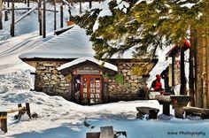 Like a fairytale <3 II Mountain hut of Rainer, The High Tatra Mountains, Slovakia II Rainerova chata, Vysoké Tatry, Slovensko #winter #hike #snow #Tatras #mountains #hut #Slovakia #Europe