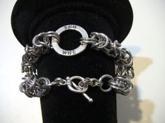 Chainmail Bracelet for your Wife! Byzantine Chainmaille Your Wife will love! Does she love Chainmail? Gift her this Maille bracelet! by…
