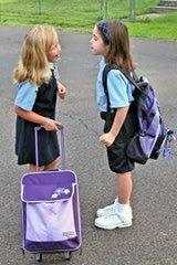 Private School Uniforms and Dress Codes: 2nd graders in their uniforms