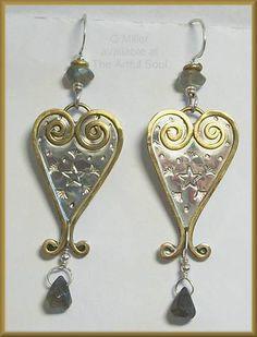 Q Miller Lover Earrings