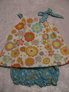 Pillowcase Dress size 18  24 months with by SusieQsCupcakeBoutiq