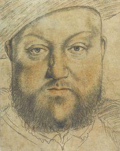 Workshop of Hans Holbein the Younger, Henry VIII, © Staatliche Graphische Sammlung München, Inv. 12875 Z