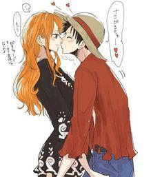Lunami Valentine's Day One piece Luffy X Nami Source by luffy One Piece Manga, One Piece Series, One Piece Nami, One Piece Ship, One Piece Fanart, Luffy X Nami, Zoro, Nico Robin, One Piece Images