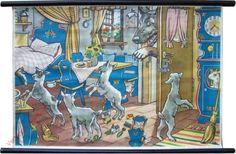 Sprookjesplaten - Wolf en de 7 geitjes