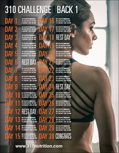 30 day back challenge, challenge ideas, preparation physique, fitness chall Back Workout Challenge, 30 Day Back Challenge, Challenge Ideas, Workout Plans, Fitness Herausforderungen, Fitness Motivation, Health Fitness, Video Fitness, Fitness Routines