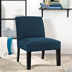 - Auteur Fabric Armchair in Azure
