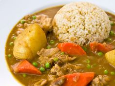 Japanese Curry Rice |  I love this simple approach to the roux necessary for kare rice.  Used for kare udon.
