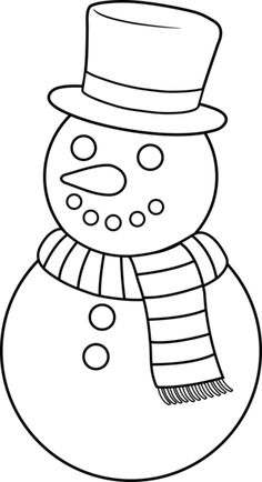 Explore Hd Snowman Clipart Outline - Snow Man Clip Art Black And White and upload more creative png images on Sccpre. Christmas Tree Clipart, Christmas Applique, Christmas Templates, Christmas Snowman, White Christmas, Snowman Images, Snowmen Pictures, Snowman Coloring Pages, Christmas Coloring Pages