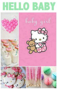 Linen, Lace, & Love: Hello Kitty Baby Shower #baby #shower #hellokitty