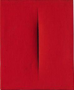 Lucio Fontana, Concetto Spaziale, Attesa, ca. 1964, Galleria Tega