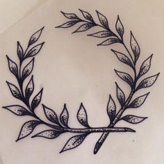 tattoo ink blackandwhite blackworkers paris bw is part of Semicolon tattoos Ideas Signs - tattoo ink blackandwhite blackworkers paris bw tattoo ink blackandwhite blackworkers paris bw Modern Tattoos, Trendy Tattoos, Small Tattoos, Cool Tattoos, Tatoos, Laurel Tattoo, Laurel Wreath Tattoo, Elbow Tattoos, Sleeve Tattoos