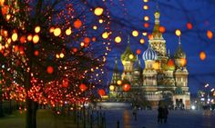 One of our favorite places in the world...Red Square at Christmastime.