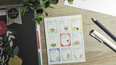 Handmade products - The good vibes spreaders by ByNoona Happy Planner, Happy Life, Are You Happy, Stickers, Creative, Handmade, Etsy, The Happy Life, Hand Made